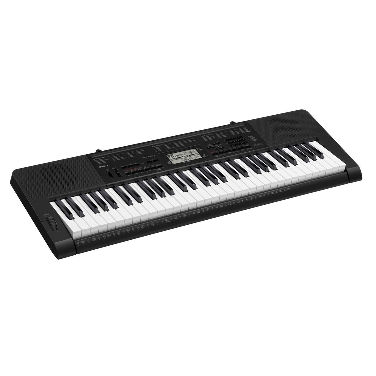 CASIO CTK-3200 Tragbares Keyboard plus GRATIS Bank & Ständer bei ...