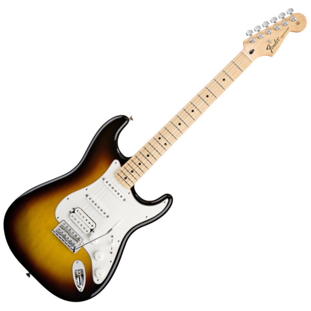 fender standard stratocaster hss mn brown sunburst at gear4music. Black Bedroom Furniture Sets. Home Design Ideas