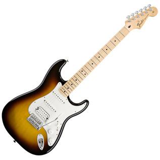 Fender Standard Stratocaster HSS Electric Guitar, MN, Brown Sunburst