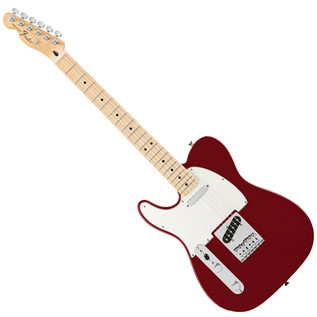 Fender Standard Telecaster LH Electric Guitar, MN, Candy Apple Red