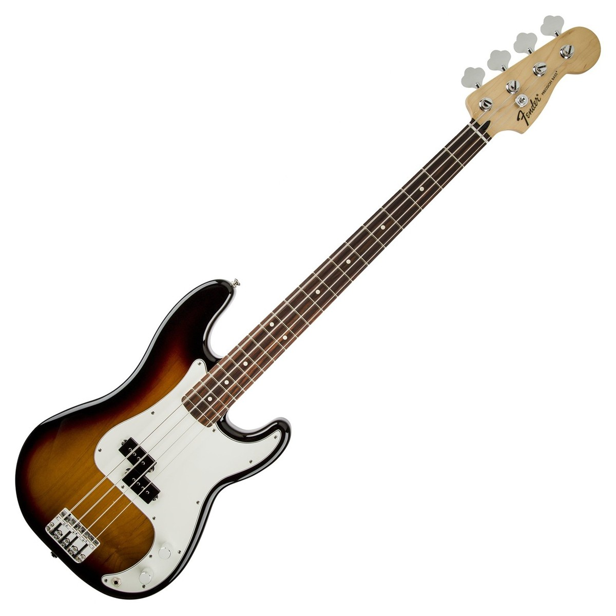 fender standard precision bass rw brown sunburst at