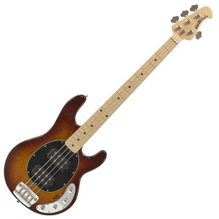 Music Man StingRay HH Bass Guitar, MN, Honeyburst