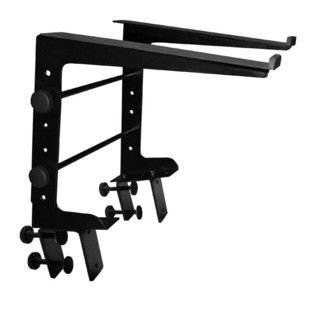 Ultimate Support JamStand LPT-100 Multi-Pupose DJ Laptop Stand with Vertical Clamps