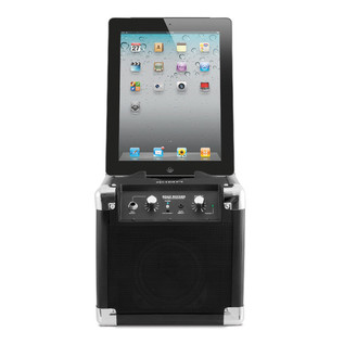 ION Road Rocker Ultra-Compact Bluetooth Speaker for iPad, iPhone  with iPad Portrait