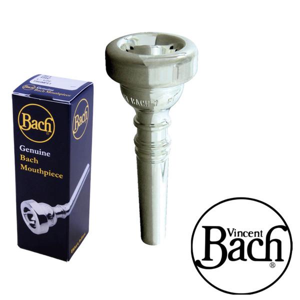 Bach 342 Flugelhorn Mouthpiece  5MV Silver Plate