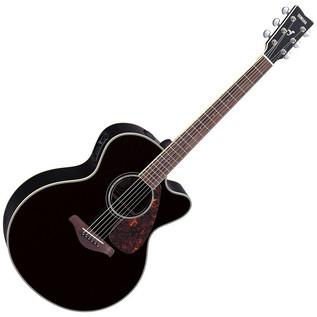 Yamaha FJX730SC mkII Electro Acoustic Guitar, Black