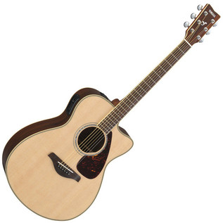 Yamaha FSX730S Electro Acoustic Guitar, Natural