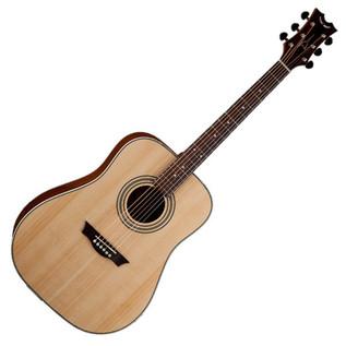 Dean Natural Series Dreadnought Acoustic Guitar, Gloss Finish
