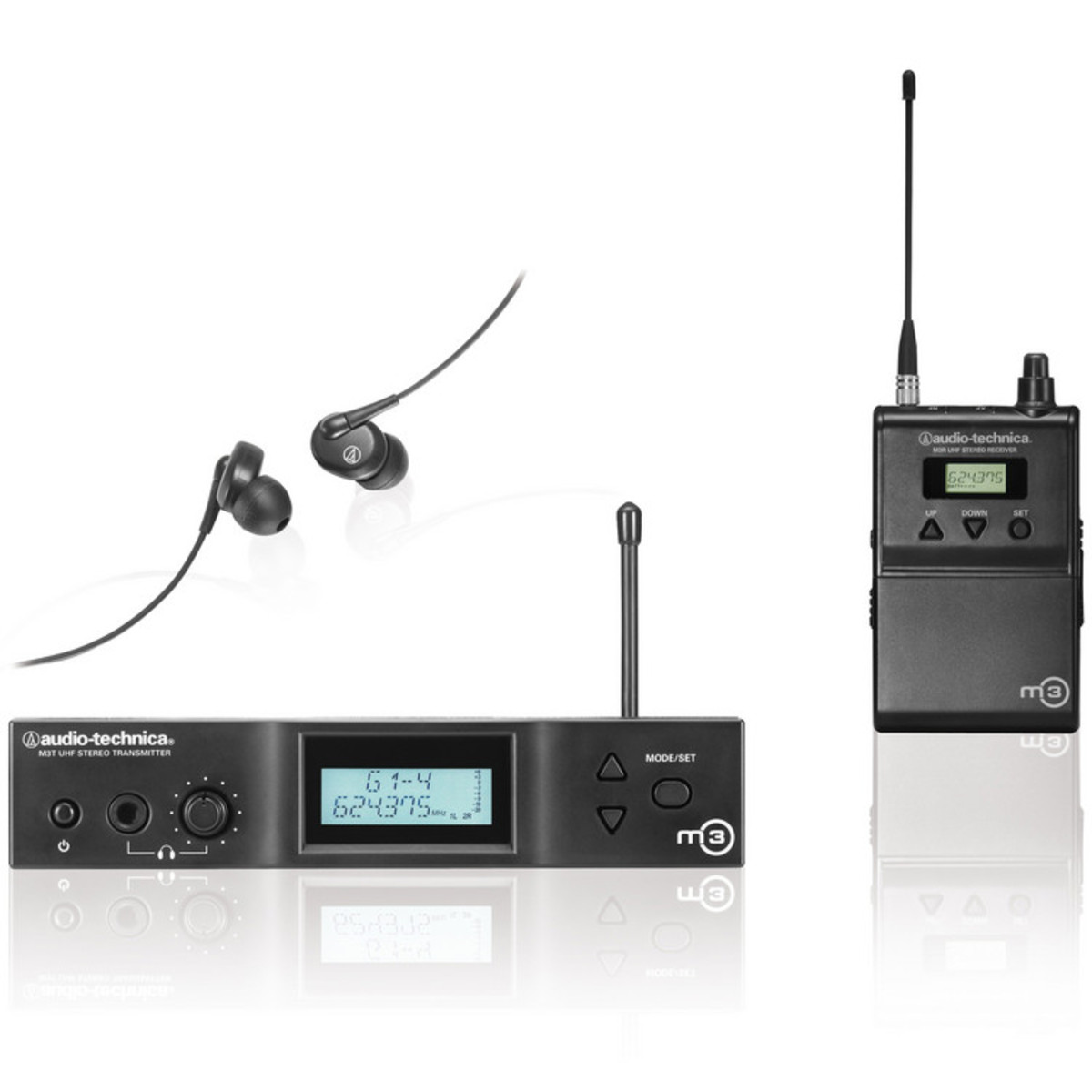 Peavey Wireless In Ear Monitors Wire Center Atx Power Supply Schematic Tyxyke5739s Soup Audio Technica M3 Monitor System At Gear4music Com Rh Cordless