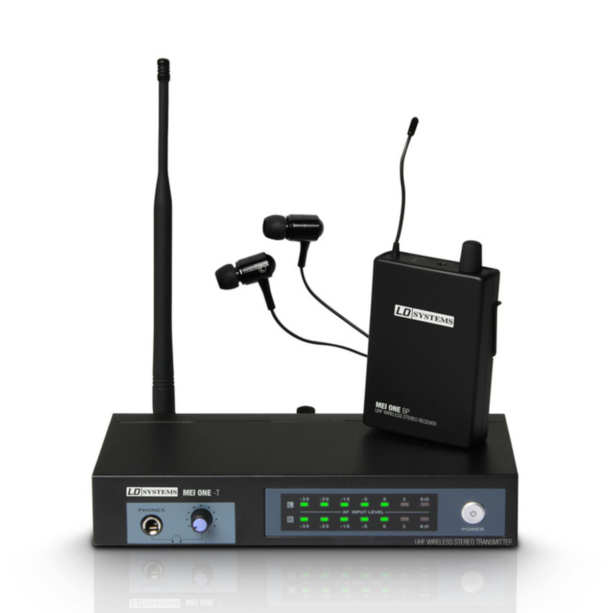 ld systems mei one 3 wireless in ear monitor system at gear4music. Black Bedroom Furniture Sets. Home Design Ideas