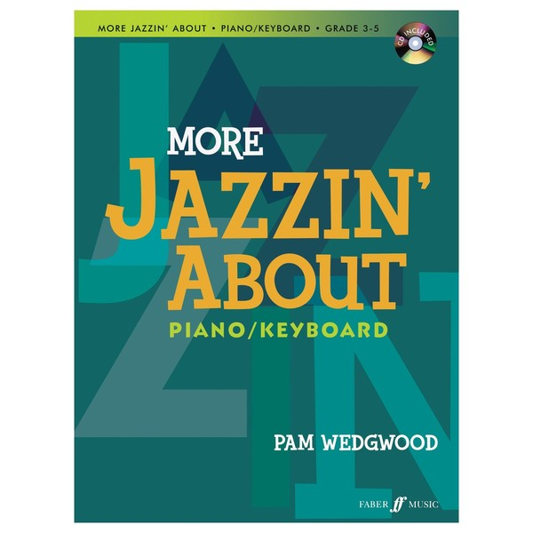 More Jazzin' About for Piano, Pam Wedgwood, Book and CD