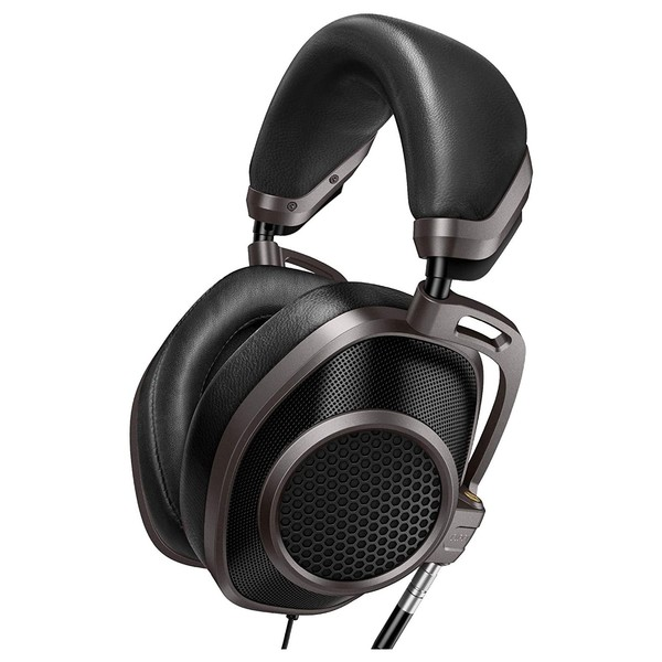Cleer Next Audiophile Headphones, Titanium - Angled