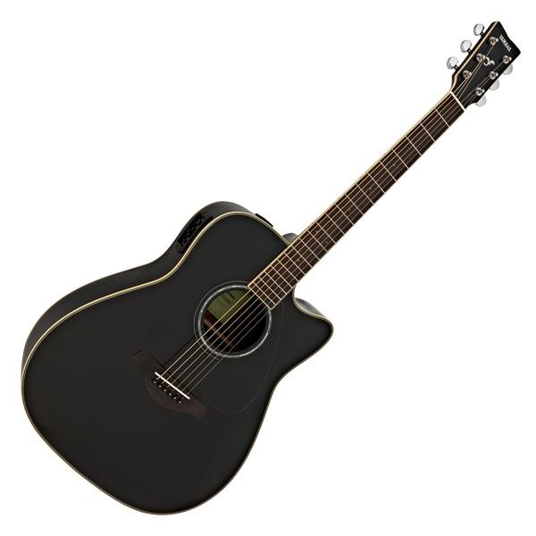 Yamaha FGX830C Electro Acoustic Guitar, Black