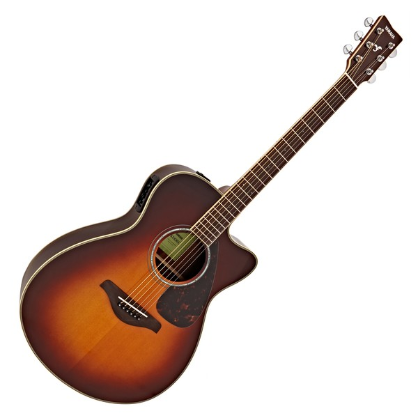 Yamaha FSX830C Electro Acoustic, Brown Sunburst