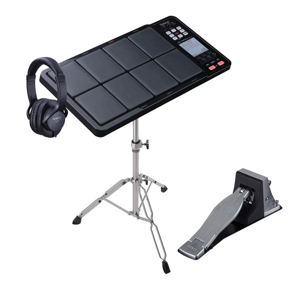 Roland Octapad SPD-30BK Total Percussion Pad Ultimate Bundle