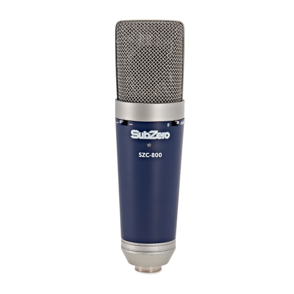 SubZero Condenser Microphone with Switchable Polar Patterns