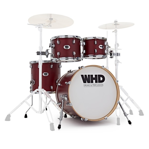 WHD Elite 4 Piece Fusion Shell Pack, Cherry Fade