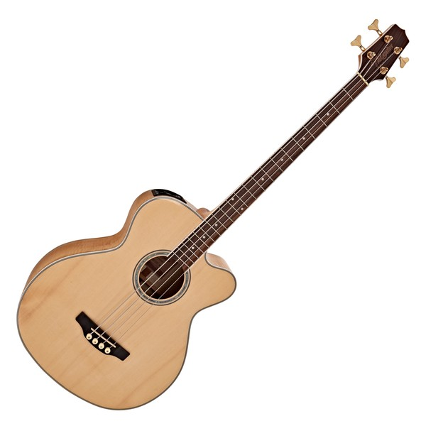 Takamine GB72CE Electro Acoustic Bass, Natural