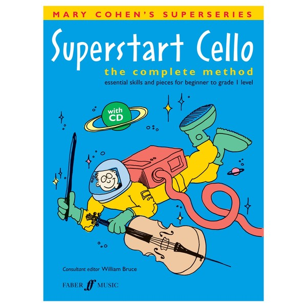 Superstart Cello, Mary Cohen, Book and CD