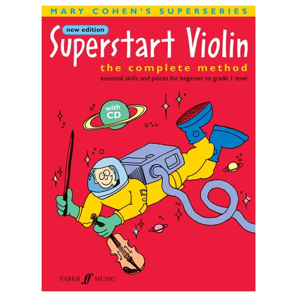 Superstart Violin, Mary Cohen, Book and CD
