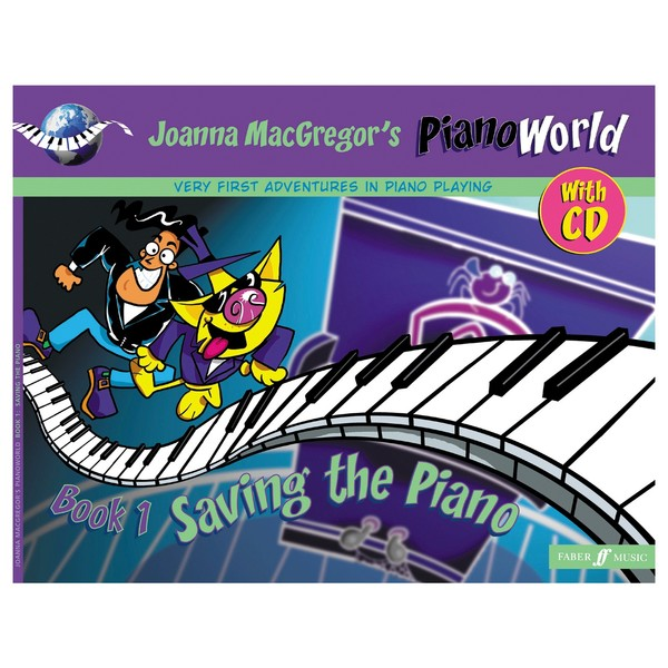 PianoWorld 1 Saving the Piano, Joanna Macgregor, Book and CD