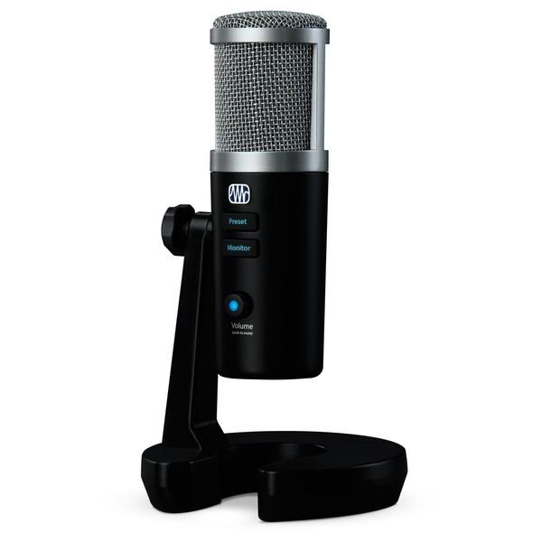 PreSonus Revelator USB Microphone - Angled