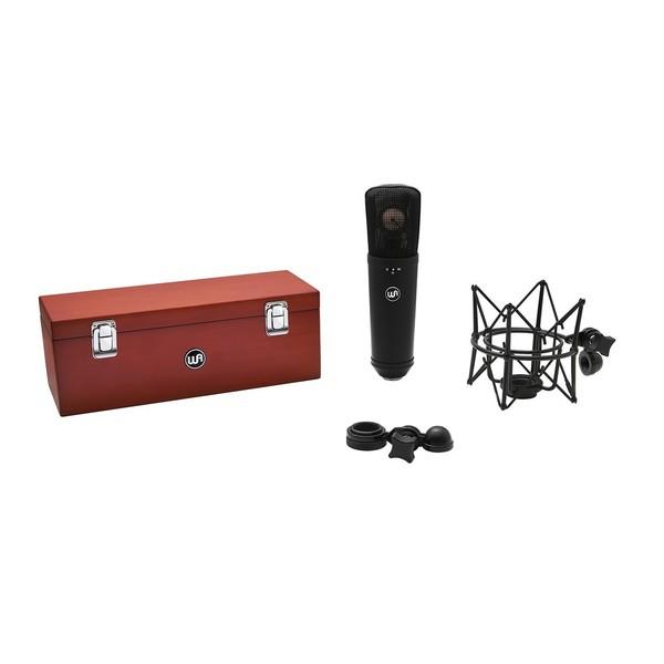 Warm Audio WA87 R2 FET Condenser Microphone, Black
