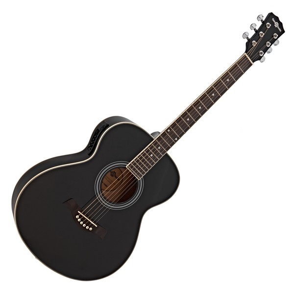 Student Electro Acoustic Guitar by Gear4music, Black