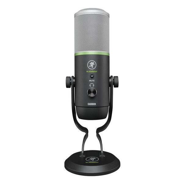 Mackie CARBON Premium USB Microphone - Front View