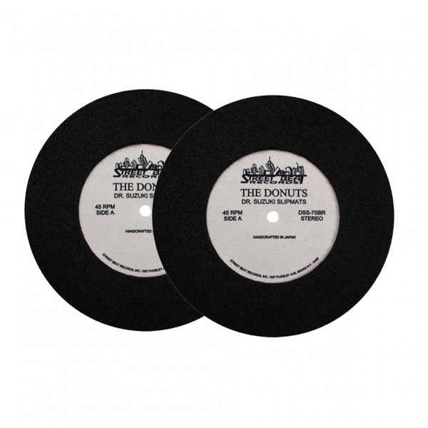 """Dr Suzuki The Donuts 7"""" Slipmats, Limited Edition - Front"""
