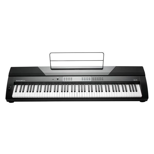 Kurzweil KA70 Portable Digital Piano - Front View with stand