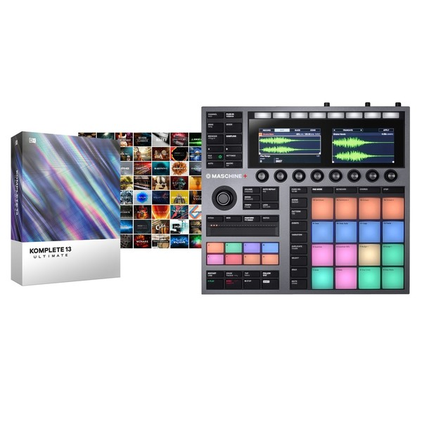 Native Instruments Maschine+ with Komplete 13 Ultimate - Full Bundle