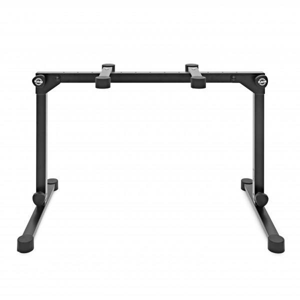 K&M 18820 Omega Pro Table Style Keyboard Stand, Black