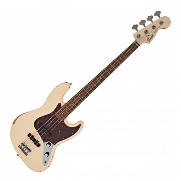 Fender 60th Anniversary Road Worn 60s J Bass PF, Olympic White