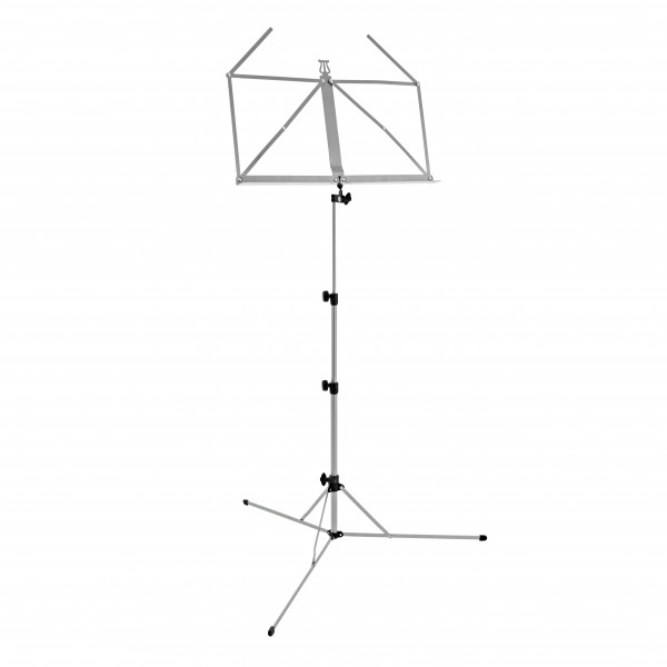 K&M 101 Music Stand, Nickel Plated
