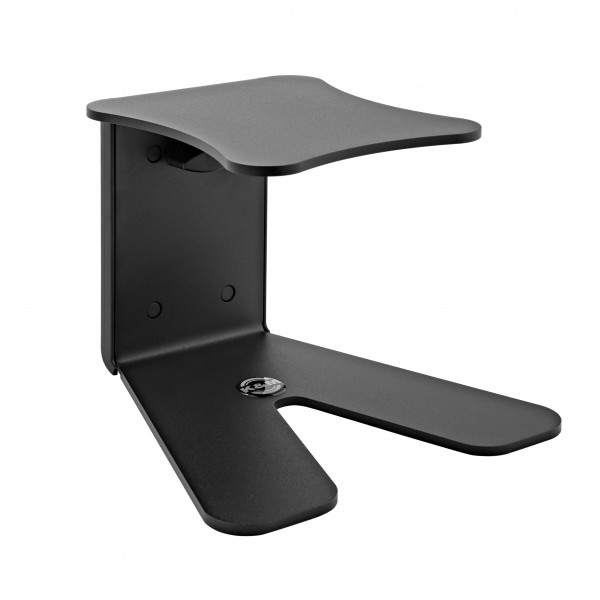 K&M 26772 Table Monitor Stand, Structured Black