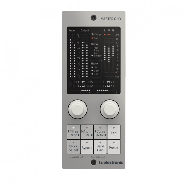 TC Electronic MASTER X HD Dynamics Processor Plug-In and Controller