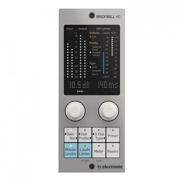 TC Electronic BRICKWALL HD-DT Mastering Limiter Plug-in and Interface