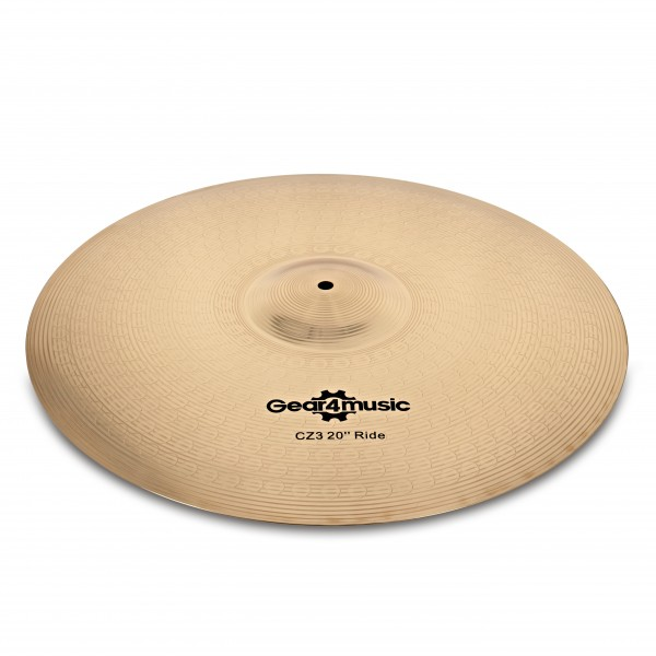 "CZ3 20"" Ride Cymbal by Gear4music"