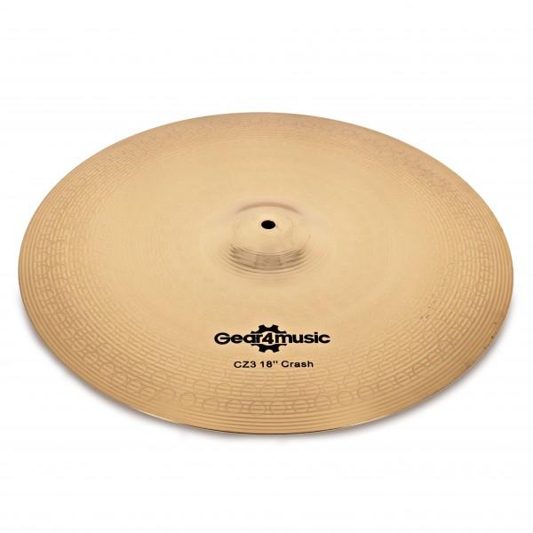 "CZ3 18"" Crash Cymbal by Gear4music"