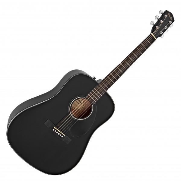 Fender CD-60S Acoustic WN, Black