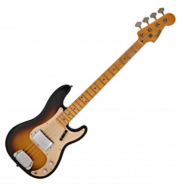 Fender Custom Shop 57 Journeyman Relic P Bass, 2-Color Sunburst