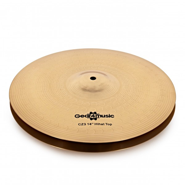 "CZ3 14"" Hi Hat Cymbals by Gear4music"