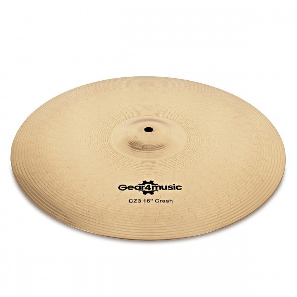 "CZ3 16"" Crash Cymbal by Gear4music"