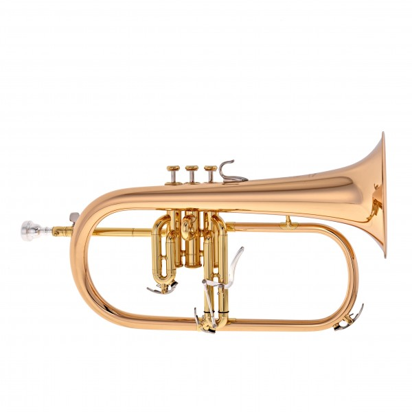 Yamaha YFH-8310ZG Custom Model Bb Flugel Horn, Clear Lacquer