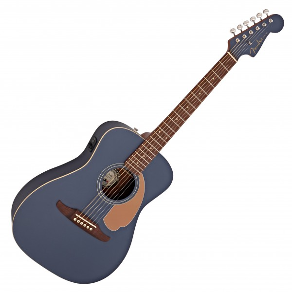 Fender Malibu Player Electro Acoustic, Midnight Satin