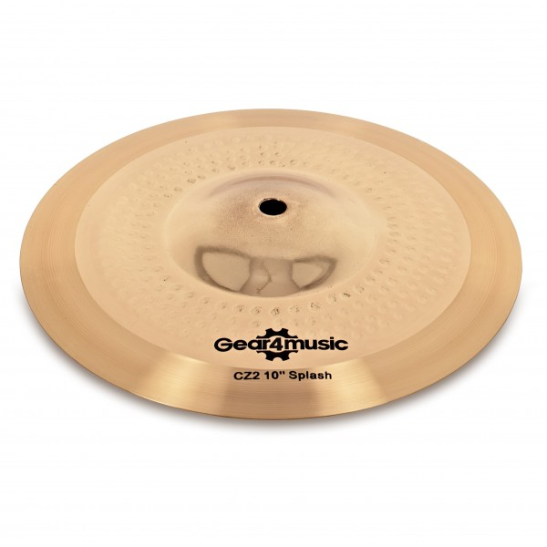 "CZ2 10"" Splash Cymbal by Gear4music"