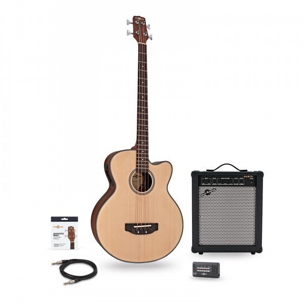 Electro Acoustic Bass Guitar + 35W Amp Pack