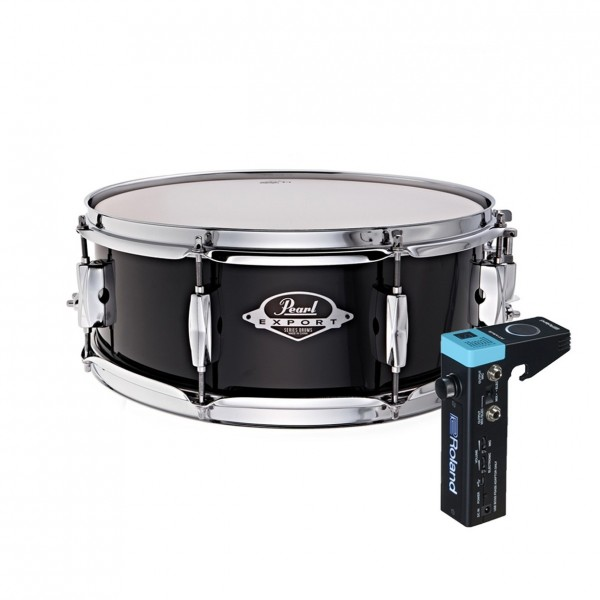 Pearl EXX Export 14'' x 5.5'' Snare Drum with Roland RT-MicS Module
