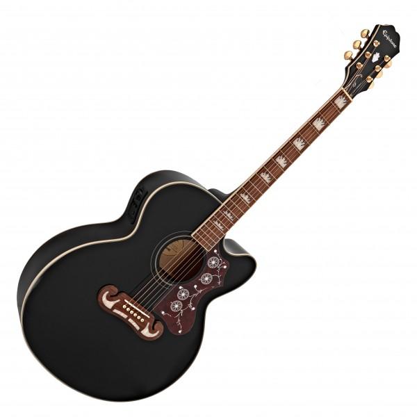 Epiphone EJ-200SCE Electro Acoustic, Black